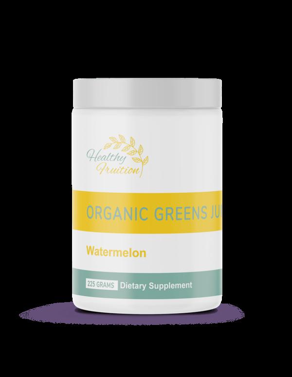 Organic Greens Juice Watermelon