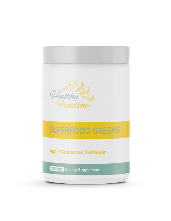 Superfood Greens Apple Cinnamon Turnover